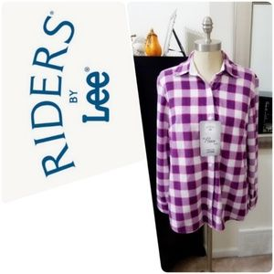 Riders by Lee | The Fleece Plaid Shirt